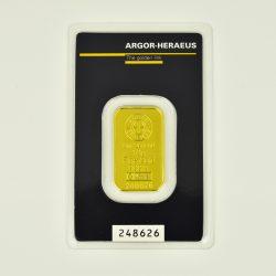 Lingote Argor – Heraeus de 10 gramos