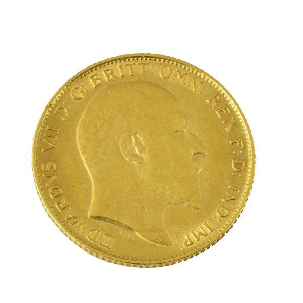 Moneda Eduardo VII