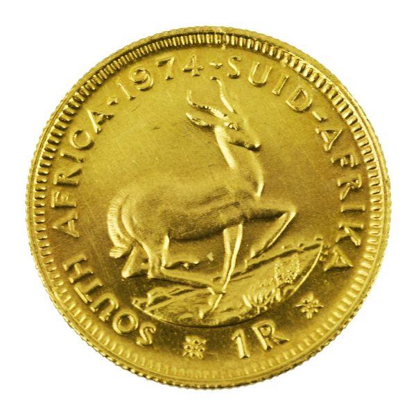 | Moneda de Sudáfrica 1974 (1 Rand)
