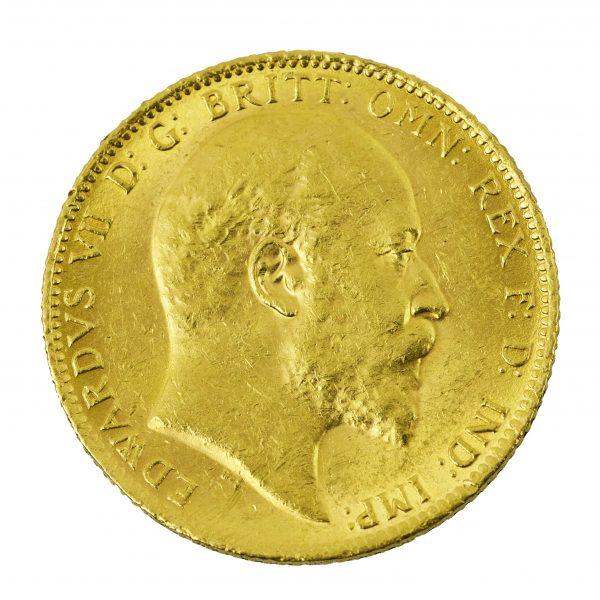   Moneda Eduardo VII 1902 (5 Libras)