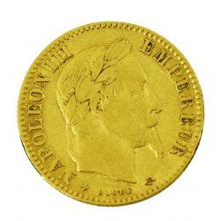 Moneda Napoleón III 1867 (10 Francos)