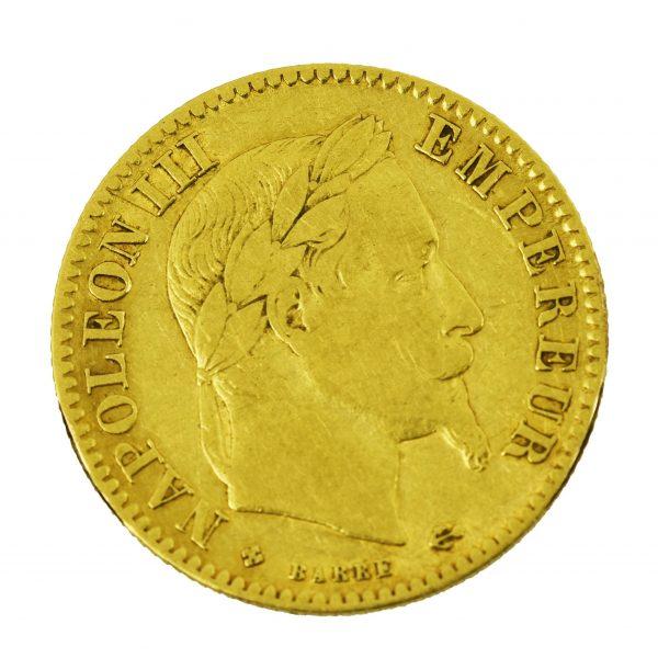 | Moneda Napoleón III 1867 (10 Francos)