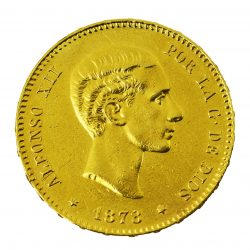 Moneda Alfonso XII 1878 (25 Pesetas)