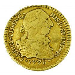 Moneda Carlos III 1778 (1/2 Escudo)