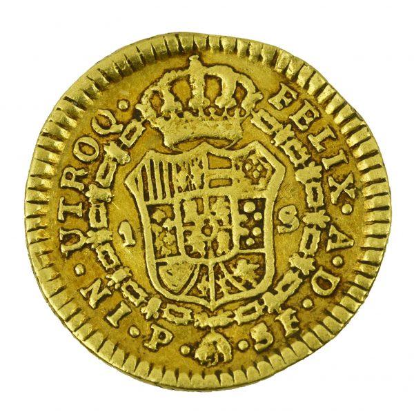 | Moneda Carlos III 1778 (1/2 Escudo)