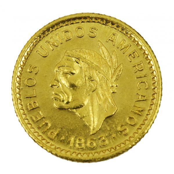 | Moneda Pueblos Unidos Americanos (Medio peso)