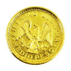 Moneda Pueblos Unidos Americanos (Medio peso)