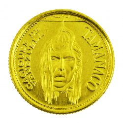 Moneda Caciques de Venezuela Siglo XVI (Tamanaco)
