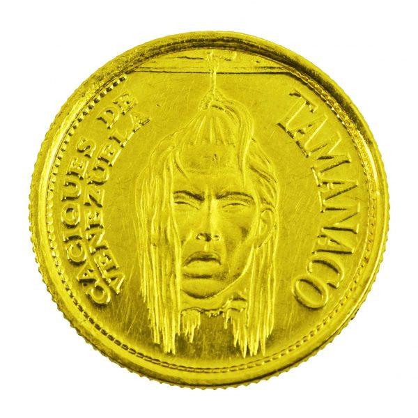 | Moneda Caciques de Venezuela Siglo XVI (Tamanaco)