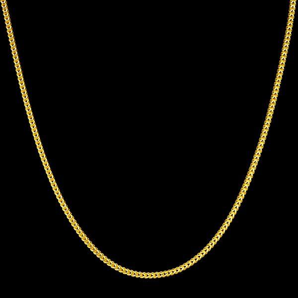 | Cadena de oro 18K Longitud 65 cm