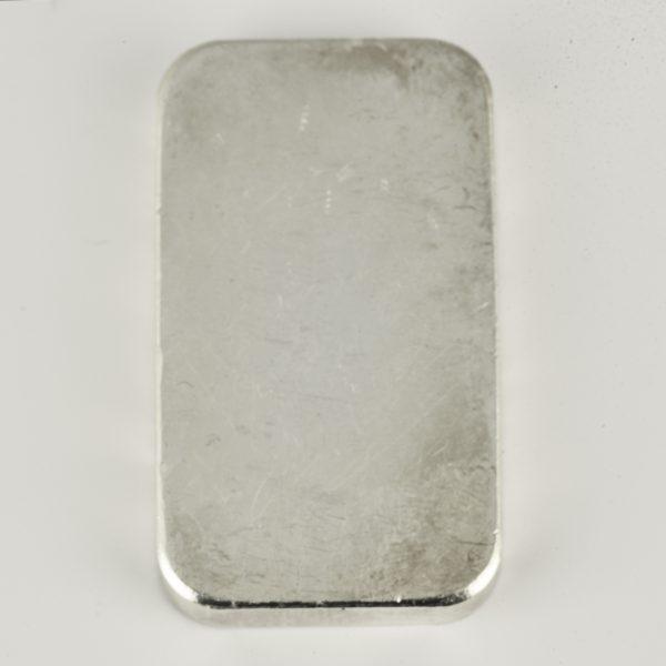 | Lingote de plata de 100 gramos