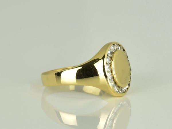 | Anillo de oro 18K Talla 57 (ø 18.1 mm)