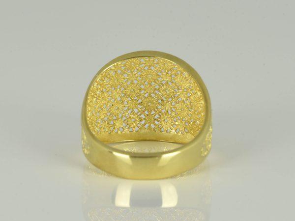 | Anillo de oro 18K Talla 53.5 (ø 17 mm)