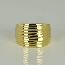 Anillo de oro 18K Talla 57.5 (ø 18.3 mm)