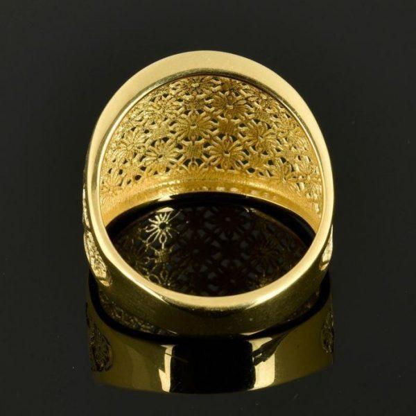 | Anillo de oro 18K Talla 58 (ø 18.5 mm)