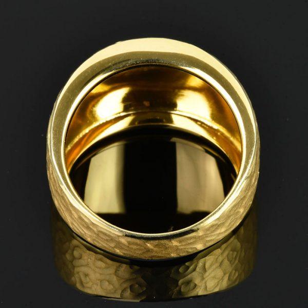   Anillo de oro 18K Talla 55 (ø 17.5 mm)
