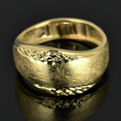 Anillo de oro 18K Talla 54 (ø 17.1 mm)
