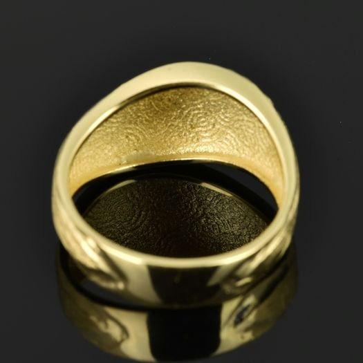 | Anillo de oro 18K Talla 54 (ø 17.1 mm)