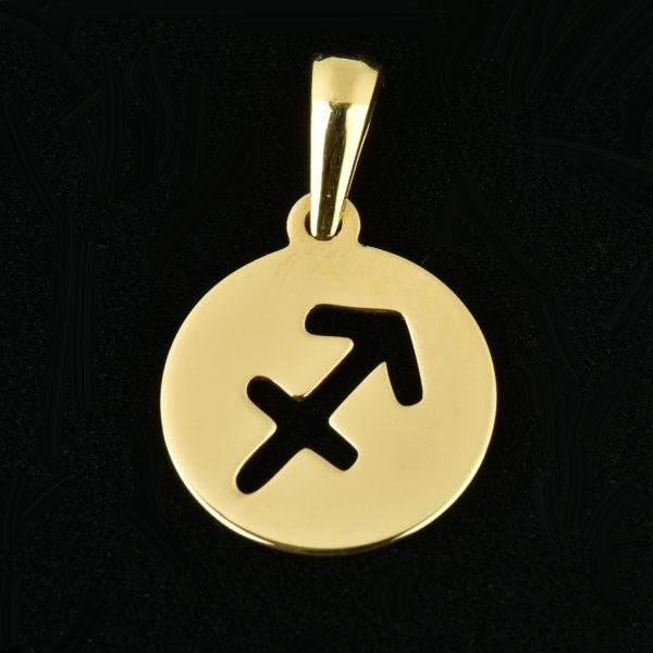 colgante de oro