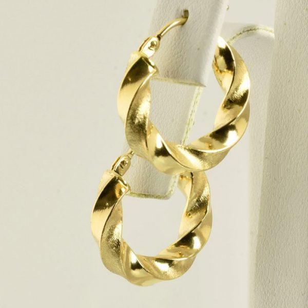 pendientes aros de oro