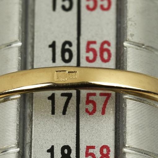 | Anillo de oro 14k Talla 56.5 (ø 18 mm)