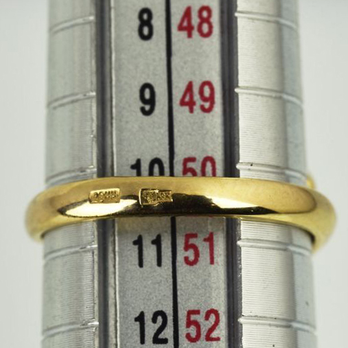 | Anillo de oro 14k Talla 50 (ø 16 mm)