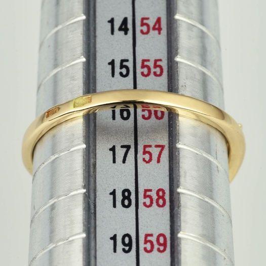 | Anillo de oro 14K Talla 56 (ø 17.8 mm)