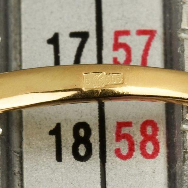 | Anillo de oro 14K Talla 57.5 (ø 18.3 mm)