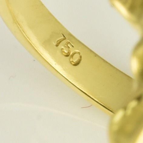 | Anillo de oro 18k Talla 55 (ø 17.8 mm)