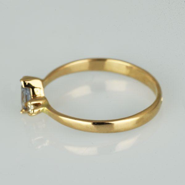 | Anillo de oro 14K Talla 54 (ø 17.2 mm)