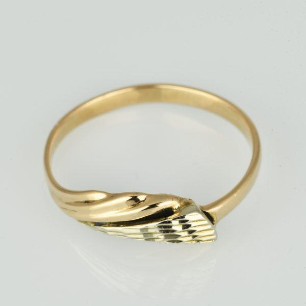 | Anillo de oro 14K Talla 59 (ø 18.7 mm)