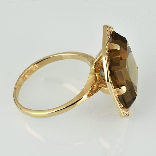| Anillo de oro 14K Talla 57 (ø 18 mm)