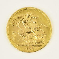 Moneda Reina Victoria Velada 1898 (1 libra)