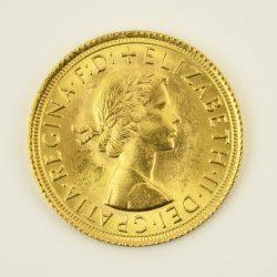 Moneda Reina Elizabeth II 1965 (1 libra)