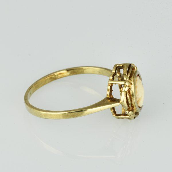 | Anillo de oro 9K Talla 53 (ø 16.8 mm)