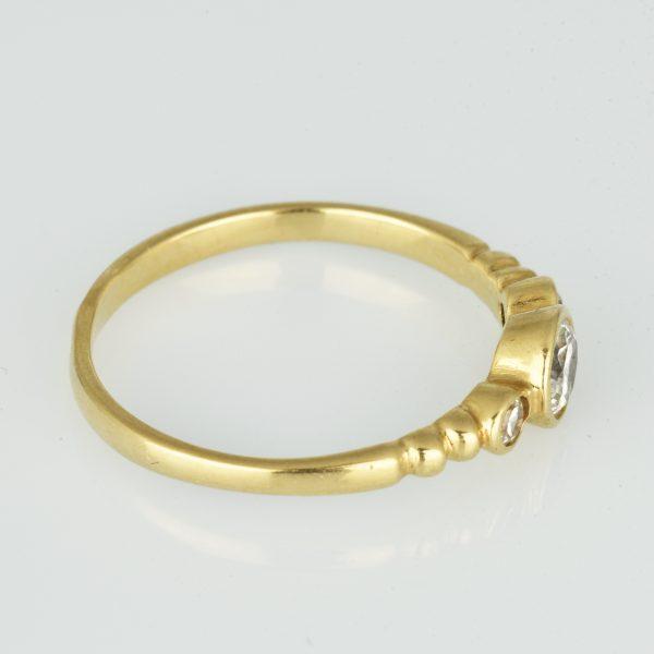| Anillo de oro 14K Talla 52 (ø 16.5 mm)