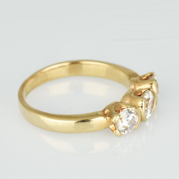| Anillo de oro 14K Talla 55 (ø 17.5 mm)