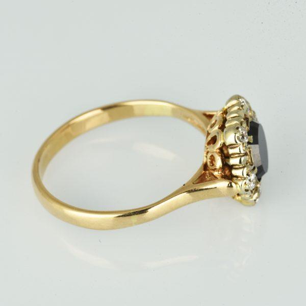 | Anillo de oro 14K Talla 57 (ø 18.1 mm)