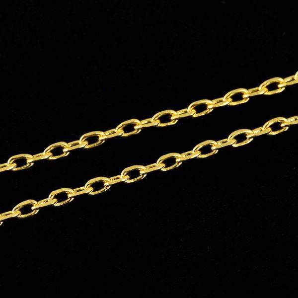 | Cadena con colgante de oro 18K con perla