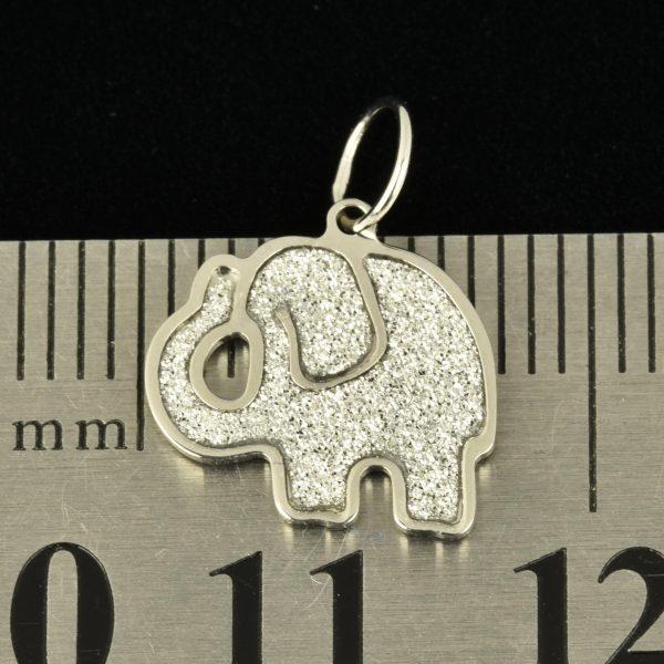 """  Colgante de oro 18K """"Elefante"""""""