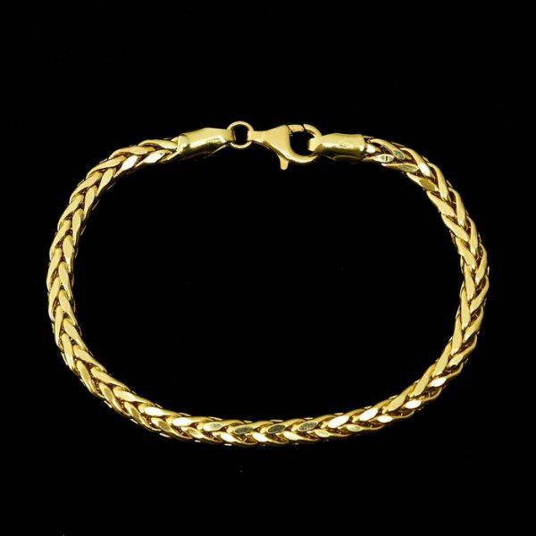 | Pulsera de oro 18K Longitud 20 cm