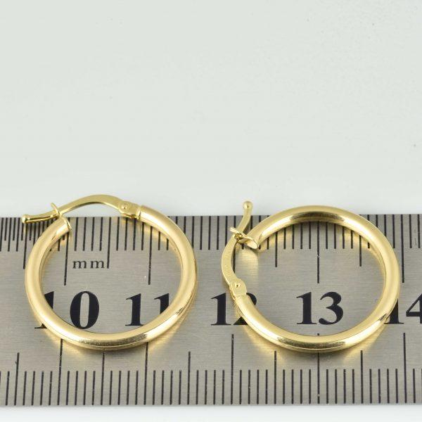 | Pendientes de oro 18K Diámetro 21 mm