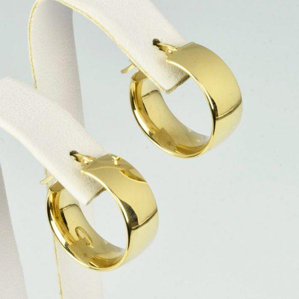 | Pendientes de oro 18K Diámetro 19 mm