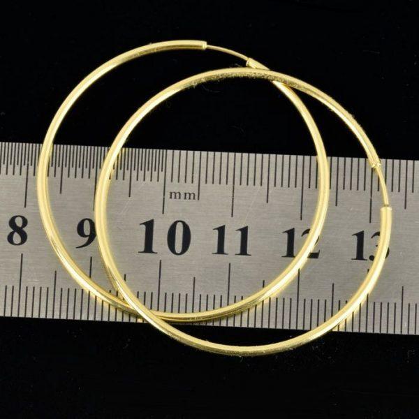 | Pendientes de oro 18K Diámetro 42 mm