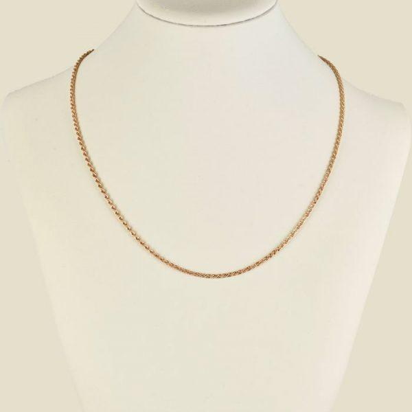 | Cadena de oro 18K Longitud 50 cm