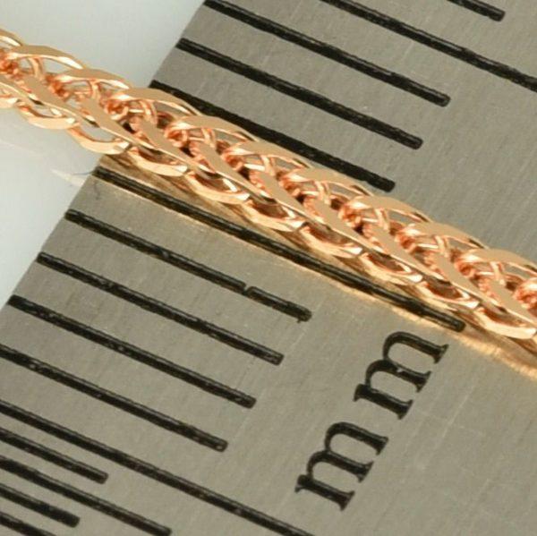   Cadena de oro 18K Longitud 45 cm