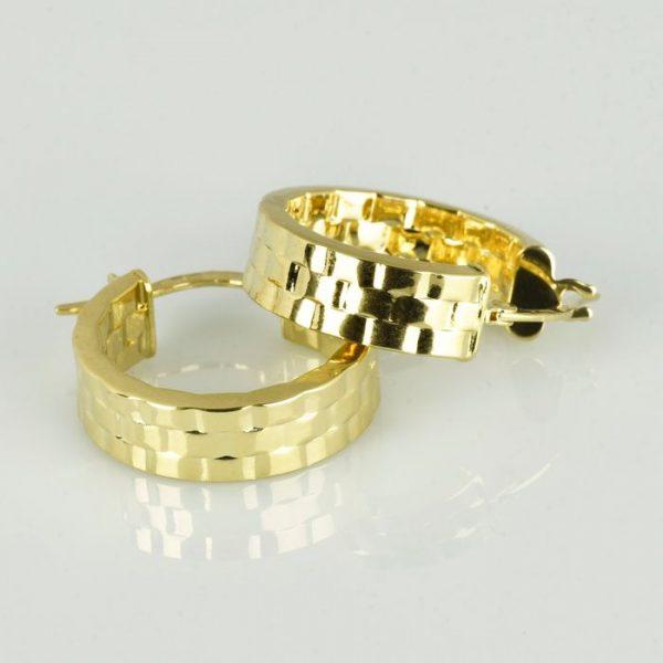   Pendientes de oro 18K Diámetro 20 mm