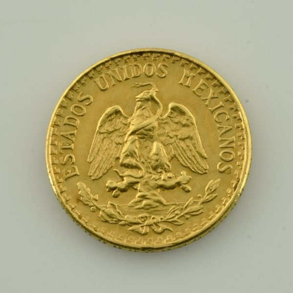 | Moneda de oro (Dos pesos)
