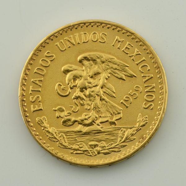   Moneda de oro de Mexico (20 Pesos)