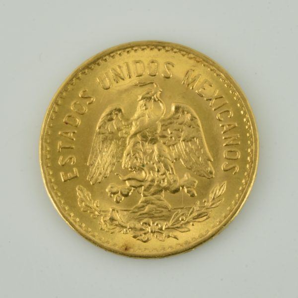 | Moneda de oro Mexico 1955 (Cinco pesos)